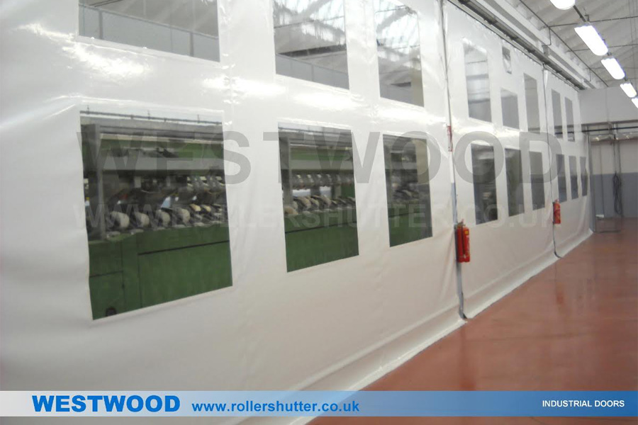 Partition Walling or Curtain Walling