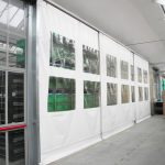 Curtain Walling With Transparent Panels