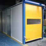 Factory High Speed Rolling Door, Manchester- UKHighSpeedDoors.co.uk