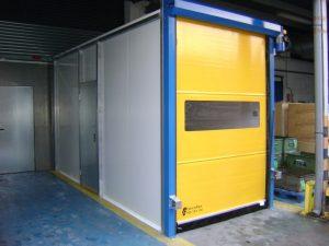 Factory High Speed Rolling Door, Manchester- UKHighSpeedDoors.co.uk