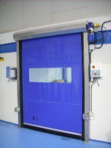 Factory High Speed Rolling Door-High Speed Doors- UKHighSpeedDoors.co.uk