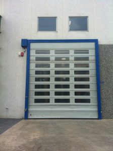 High Speed Door Full Windows-UKHighSpeedDoors.co.uk