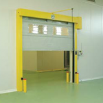 High Speed Folding Doors With Windows- UKHighSpeedDoors.co.uk