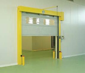 High Speed Folding Doors With Windows- UKHighSpeedDoors.co.uk