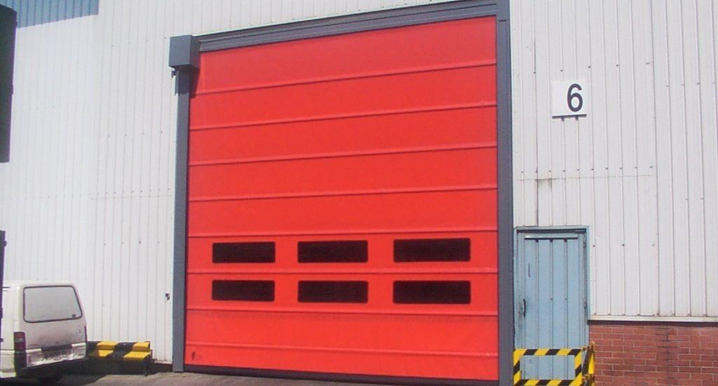 High Speed Door External, Manchester